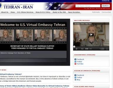 """Iran: """"chytry spisek"""" Amerykanów zneutralizowany. Wirtualnej ambasady..."""