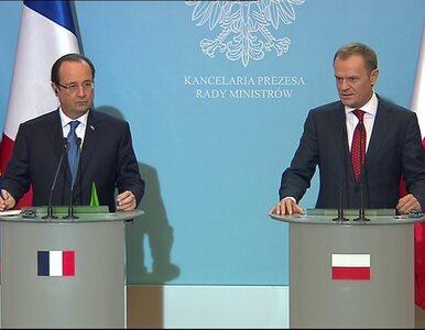 Tusk i Hollande o Ukrainie: Droga do UE otwarta