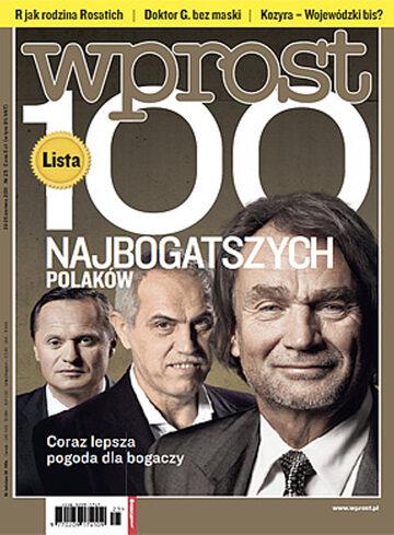 Okładka tygodnika WPROST: 25/2011