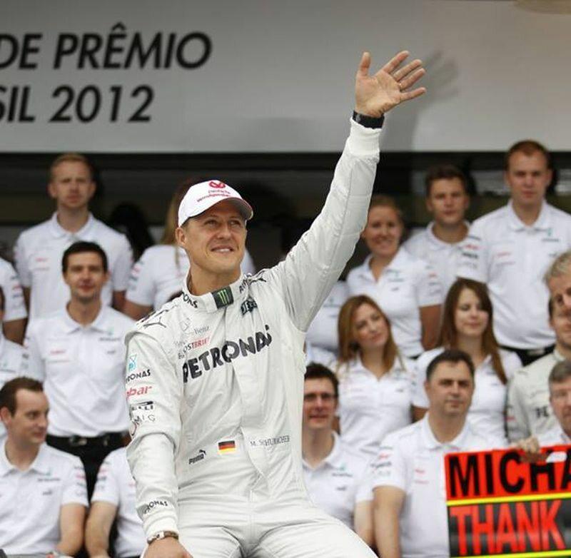 Michael Schumacher 1 mld dolarów