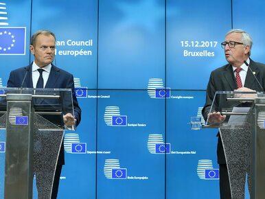 """Wirtualne rękoczyny na linii Tusk-Juncker. """"Politico"""": Są w ciągłym..."""