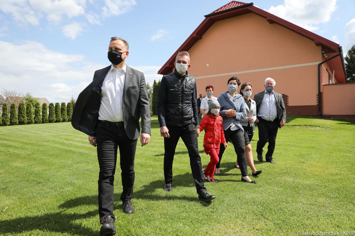 Prezydent odwiedził mieszkańców Ziemi Świętokrzyskiej