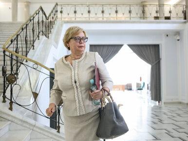 Sędzia Gersdorf potwierdziła datę powrotu do SN.  Rzecznik PiS odpowiada