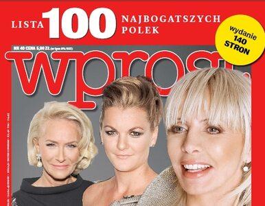 Lista 100 najbogatszych Polek: miejsca 80-100