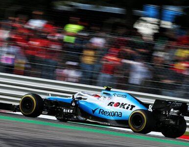 Robert Kubica i Orlen odchodzą z Williamsa. Koncern zostaje w Formule 1