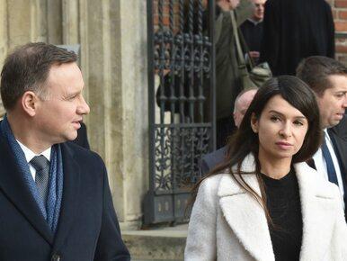 Andrzej Duda i Marta Kaczyńska odwiedzili grób pary prezydenckiej na Wawelu