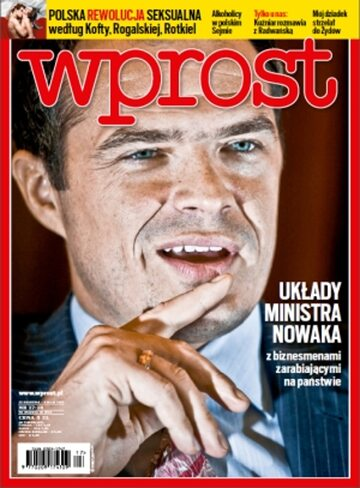 Okładka tygodnika Wprost nr 17/2013 (1574)