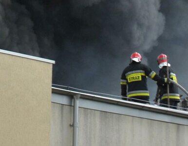 Przez pożar wyłączono Elektrociepłownię Żerań