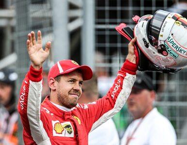 Mistrz świata Sebastian Vettel odchodzi z Ferrari