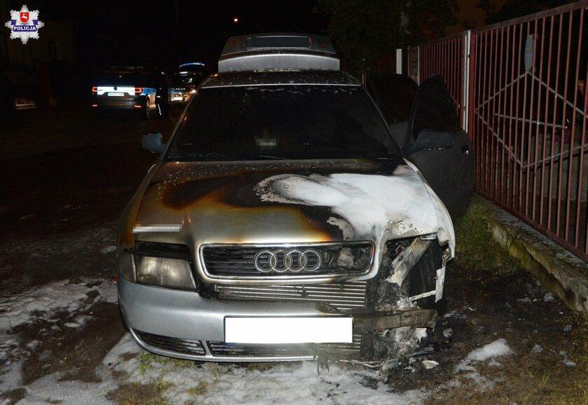 W złości podpalił samochód partnerki