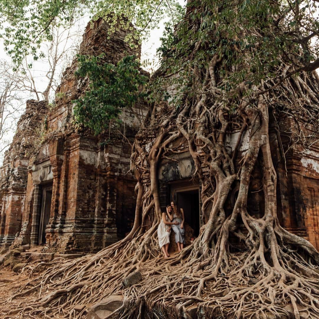 Lexie Alford w Kambodży