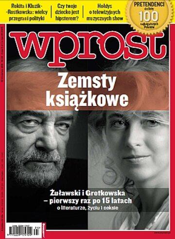 Okładka tygodnika WPROST: 24/2011