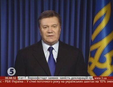 Janukowycz: Liderzy opozycji przekroczyli granicę, kiedy wezwali ludzi...