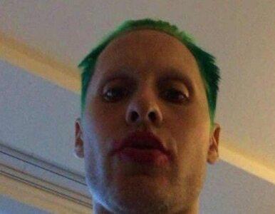 Jared Leto z zielonymi włosami. Przemiana w filmowego Jokera