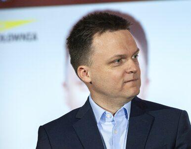Szymon Hołownia o bojkocie wyborów: To władza powinna zrezygnować z...