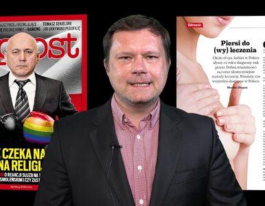 """We """"Wprost"""" m.in. wywiad z Tomaszem Sekielskim. Numer zapowiada Jacek..."""