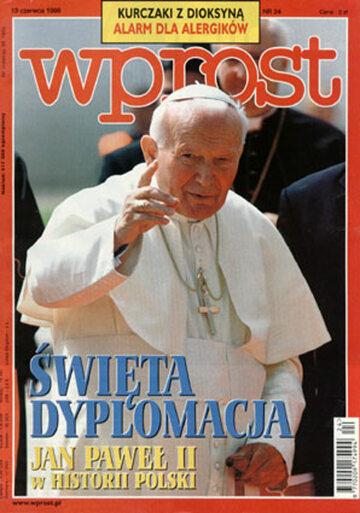 Okładka tygodnika Wprost nr 24/1999 (863)