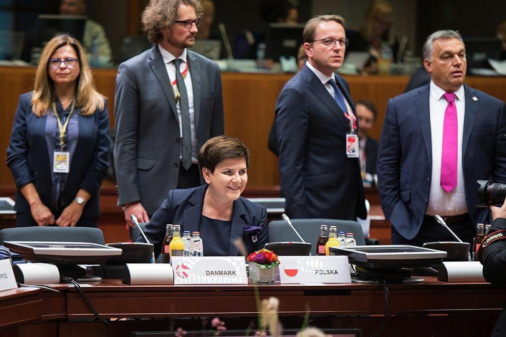 Posiedzenie Rady Europejskiej