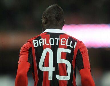 Balotelli publicznie przeprosi trenera, którego obraził