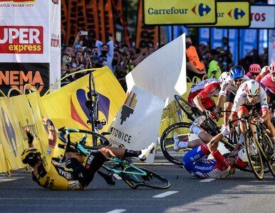 Dramatyczny wypadek podczas wyścigu Tour de Pologne. Fabio Jakobsen...