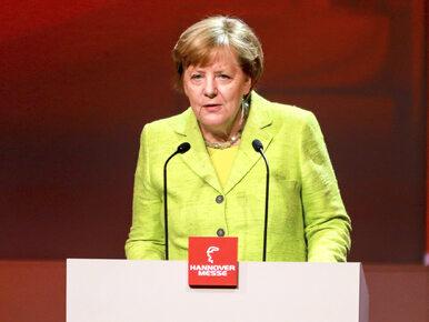 """Merkel zabrała głos w sprawie wyborów we Francji. """"Macron byłby silnym..."""
