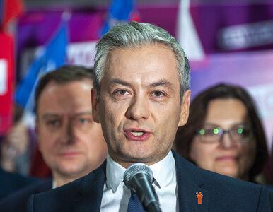 Wybory prezydenckie. Biedroń z poparciem konwencji SLD