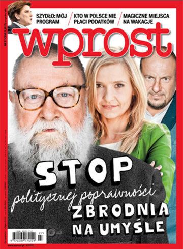 Okładka tygodnika WPROST: 27/2015