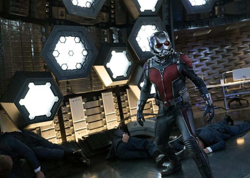 "Kadr z filmu ""Ant-Man"" (2015)"