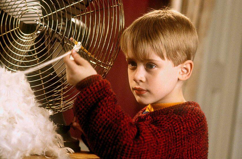 """Macaulay Culkin w filmie """"Kevin sam w domu"""" (1990)"""