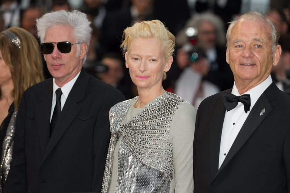 Jim Jarmusch,  Tilda Swinton i Bill Murray