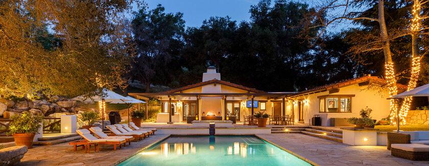 Dom Liana Payne'a w Calabasas w Kalifornii