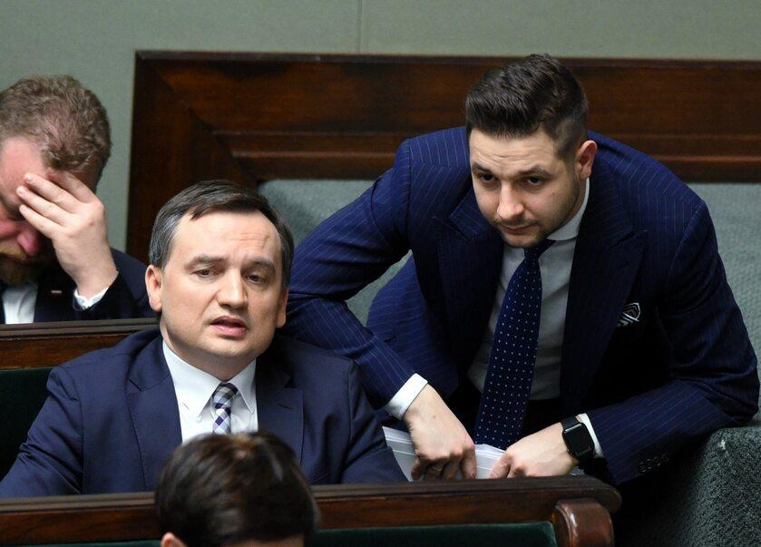 Zbigniew Ziobro i Patryk Jaki