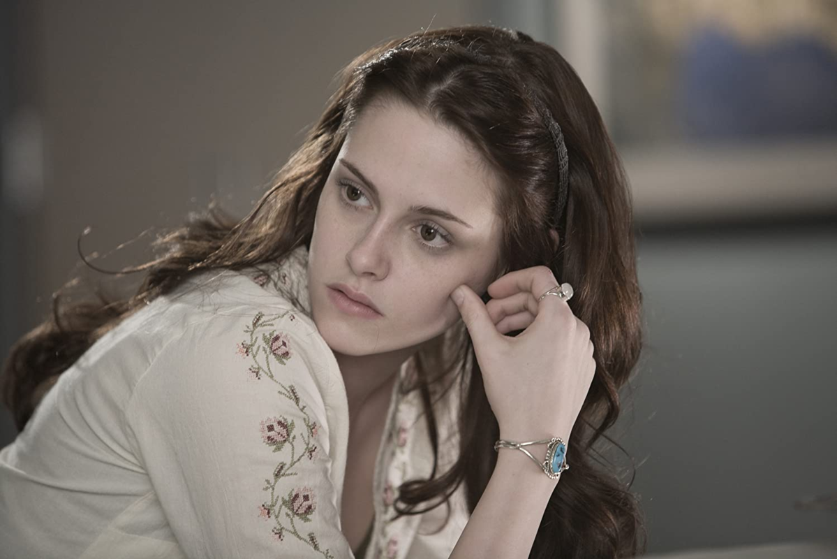 """Kristen Stewart w filmie """"Zmierzch"""" (2008)"""