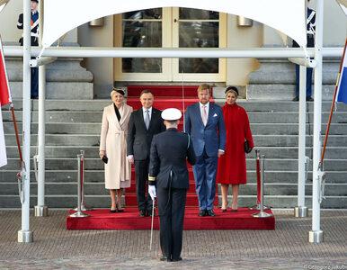 Para prezydencka z wizytą w Holandii. Agata Kornhauser-Duda zaskoczyła...