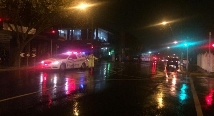 Miejsce strzelaniny w Melbourne
