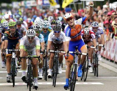 Polak w czołówce kolarskiego wyścigu Eneco Tour
