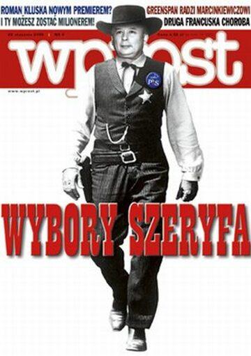 Okładka tygodnika Wprost nr 4/2006 (1207)