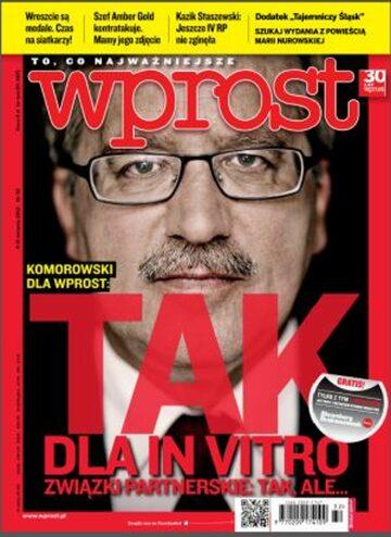 Okładka tygodnika Wprost nr 32/2012 (1538)
