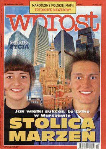 Okładka tygodnika Wprost nr 41/1999 (880)