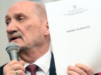Macierewicz: Wierzę, że TVP wkrótce opublikuje raport ws. katastrofy...