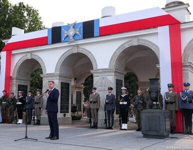 Prezydent Duda na obchodach Dnia Weterana: Polacy są bardzo wdzięczni za...