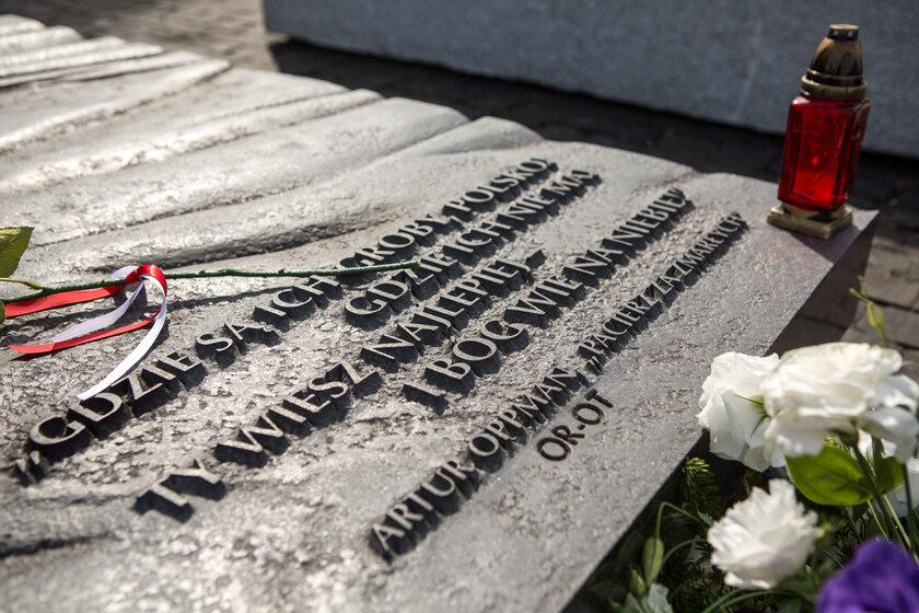 Pomnik Ofiar Zbrodni Wołyńskiej na warszawskim Żoliborzu