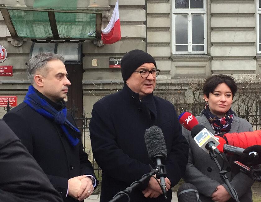 Krzysztof Gawkowski, Włodzimierz Czarzasty i Anna Maria Żukowska