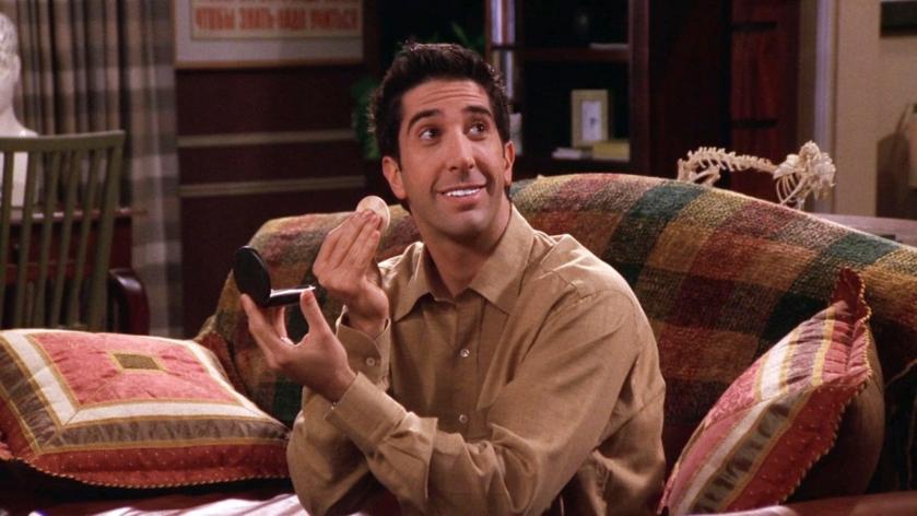"""David Schwimmer jako Ross Geller w serialu """"Przyjaciele"""""""