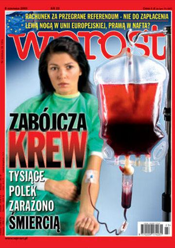 Okładka tygodnika Wprost nr 23/2003 (1071)