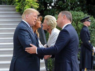 NA ŻYWO. Prezydent Andrzej Duda w Białym Domu