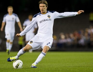 Beckham zostaje w Los Angeles Galaxy
