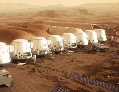 Pierwsze projekty domów na Marsie. Zobacz, co wcześniej planowało...