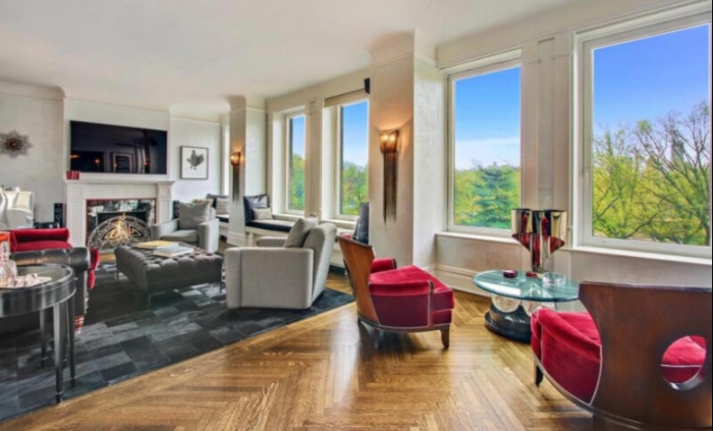 Mieszkanie Antonio Banderasa na Manhattanie