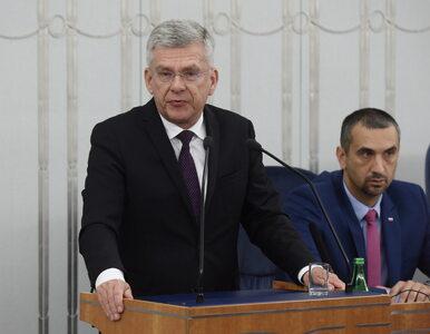 Marszałek Senatu przyznaje: W ustawie o Sądzie Najwyższym jest pomyłka